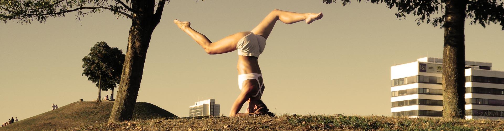 Stina Hauser in Karlsruhe Gesundheitstraing, Yoga + Pilates