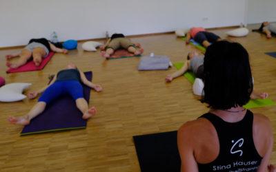 24.11.2018 Workshop Yoga Nidra in Schlossgartenhalle Ettlingen