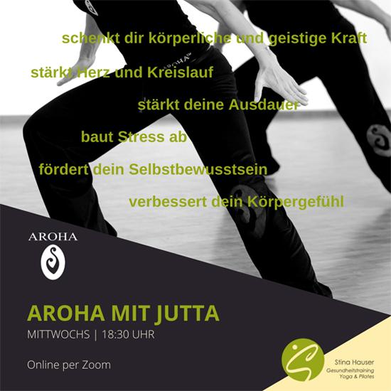 AROHA in Karlsruhe online mit Jutta