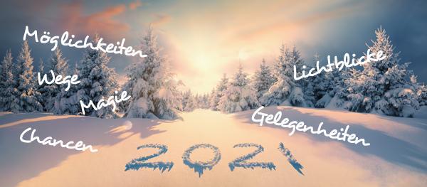 Hallo neues Jahr 2021